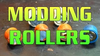 Modifying Roller Weights Or Sliders For CVT Tuning