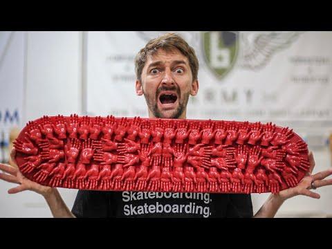 TINY HANDS Skateboard Challenge