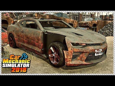 car-mechanic-simulator-2018---junkyard-rescue-chevrolet-camaro-ss- -ep.-37
