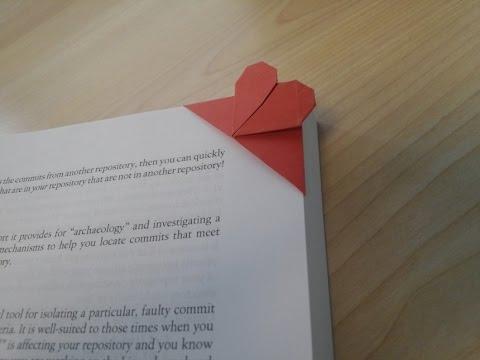 Origami - Huớng dẫn cách gấp con dấu đọc sách siêu kute (Bookmark)