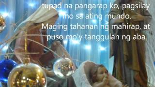 OYAYI (live) Lyric Video Arnel Aquino, SJ
