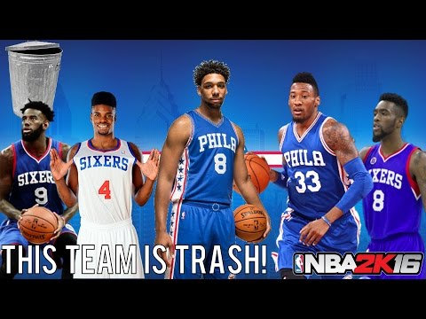 NBA 2K16 Play Now Online: Philadelphia 76ers Challenge! | This Team is Trash!