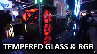Tempered Glass and RGB EVERYTHING