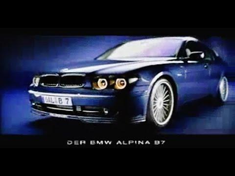 BMW Alpina B7 E65 Promotional video  YouTube