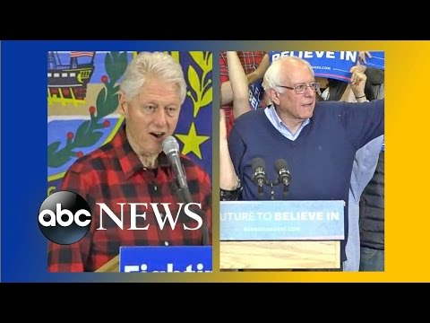 Bill Clinton Takes Aim at Bernie Sanders