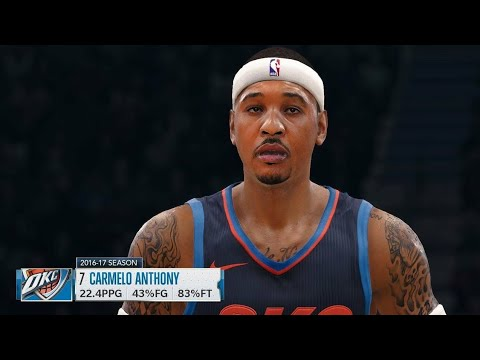 NBA LIVE 18 - Oklahoma City Thunder vs New Orleans Pelicans - 2nd Half - PS4 PRO 1080p - HD