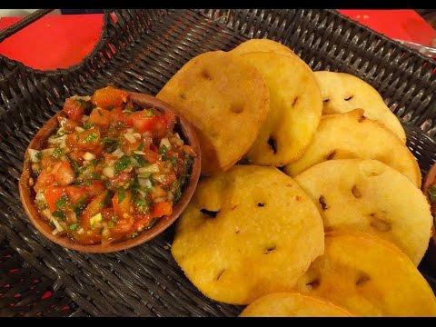 Ingredientes para sopaipillas con pebre sabores qu for Ingredientes para comida