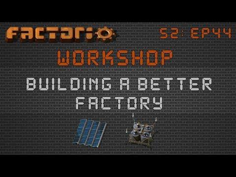Zarklord's Solar Layout / Design:: Factorio Workshop Season 2 - Building A Better Factory