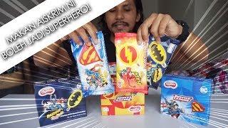 Batman dan Superman kena sumpah jadi aiskrim!! (mukbang malaysia)