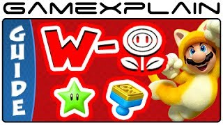 Super Mario 3D World - All Flower World Green Stars & Stamps Guide & Walkthrough