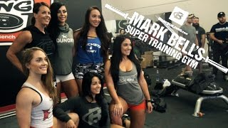 HOT CHICKS WHO LIFT AT Super Training GYM