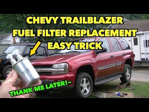 [DIAGRAM_5FD]  TrailBlazer Fuel Filter Hack~EAZY~ Tip Replacement. - YouTube | 2007 Trailblazer Fuel Filter |  | YouTube