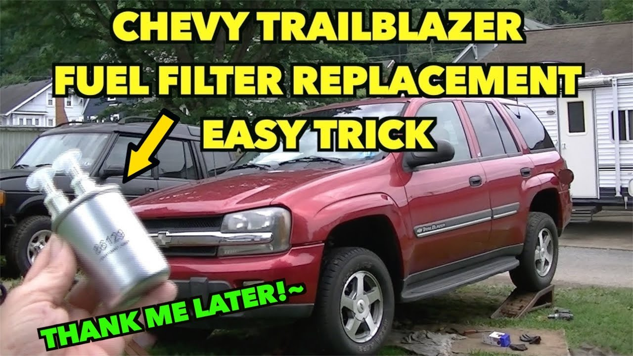 Trailblazer Fuel Filter Hack Eazy Tip Replacement Youtube