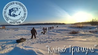 Рыболовный фестиваль на Озере Травакуль Окунь клевал как бешенный Рыбалка в мороз