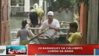 NTVL: 20 barangay sa Calumpit, lubog sa baha