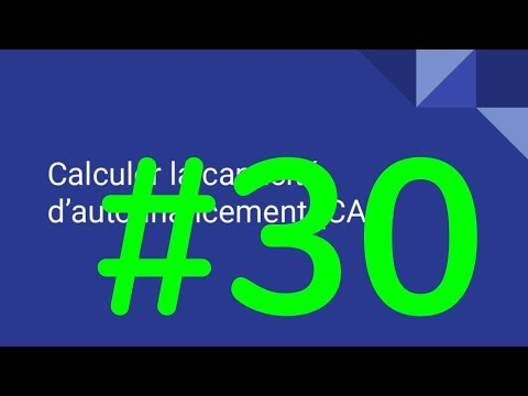 30 Calculer La Capacite D Autofinancement Caf Youtube
