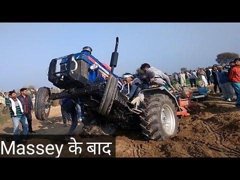 किसान का ट्रेक्टर है Powertrac Euro 50 Performance In Harrow Competition Bamla Bhiwani