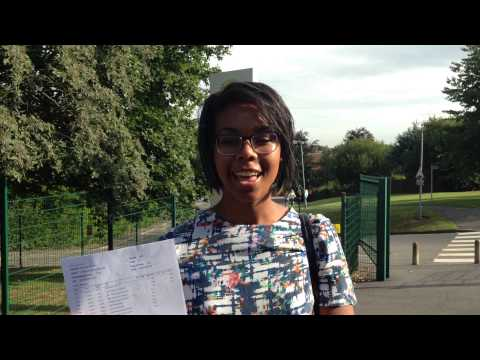 Toot Hill student Alicia Saccoh reveals her A-Level results
