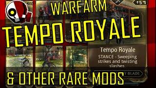 Warframe: How to Farm TEMPO ROYALE, Lifestrike, Gaia's Tragedy and Other Rare Mods!