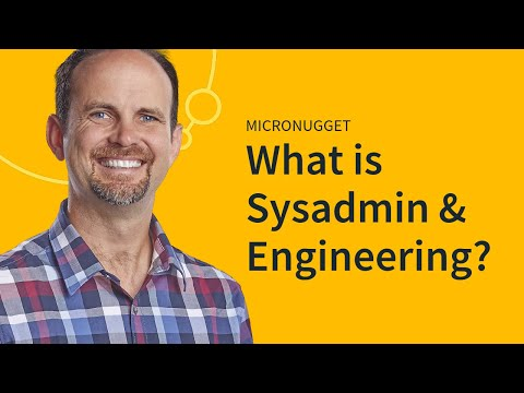 What is Systems Administration & Engineering?
