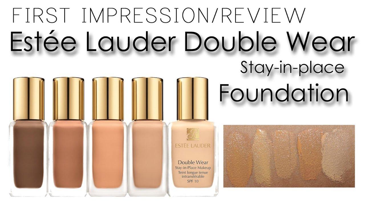 Review Estee Lauder Double Wear Foundation Canvas Fashions