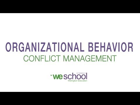 Conflict Management at Workplace