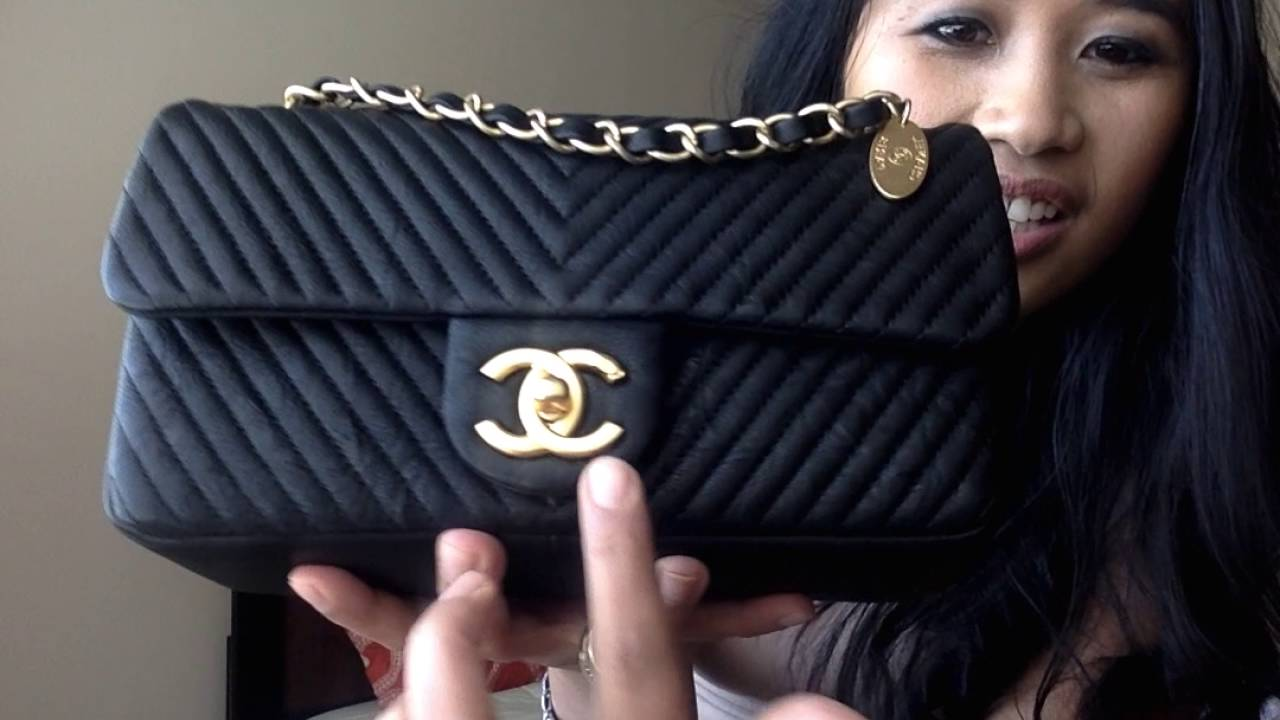 e0a4784b948f Chanel: I bought a Chanel Bag! Cruise Chevron Bag Unboxing, Reveal & Review  (What Fits Inside) - YouTube