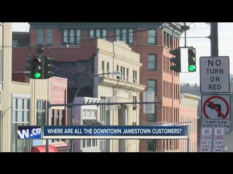 Where are all the Downtown Jamestown customers?
