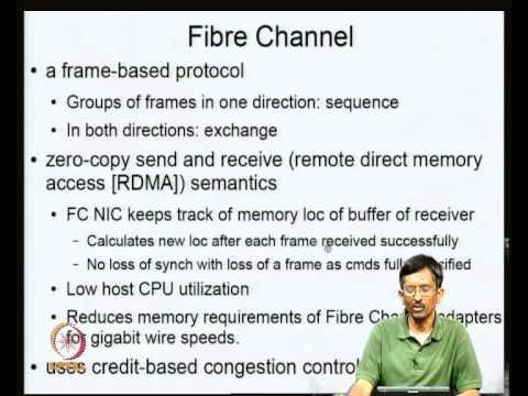 Mod-03 Lec-07 Fibre Channel Protocol (FCP)