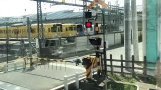 西武鉄道30000系、南入曽車両基地にて。