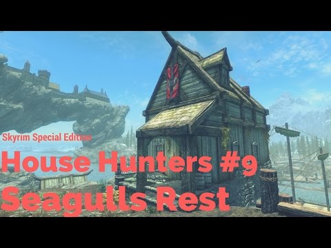 SMALL WATERSIDE PLAYER HOME! Skyrim House Hunters #9
