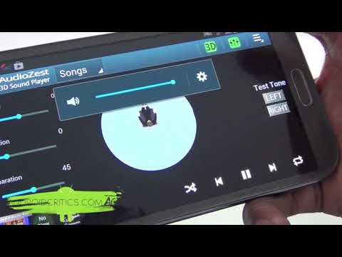Audiozest- Best Android Music Player  3D Music Player And Equalizer App