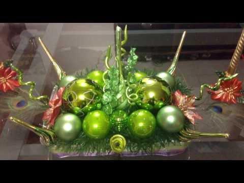 Arreglo navideño de esferas (facil, rapido y económico)