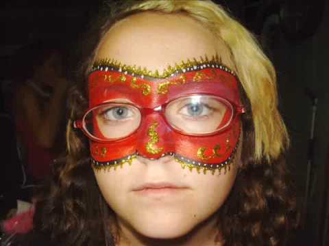 Halloween Mask For Glasses Wearers - YouTube