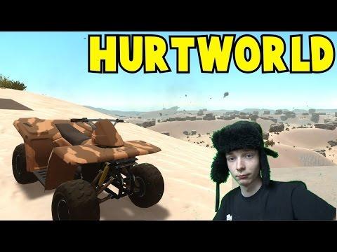 Hurtworld#6 Straciliśmy C4 !? Rajdowanie nieopłacalych baz ;/