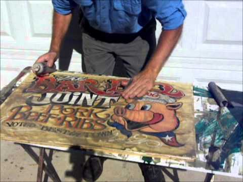 Zekes Antique Signs to Print making