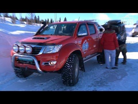 Arctic Trucks Norge på Golsfjellet 2014