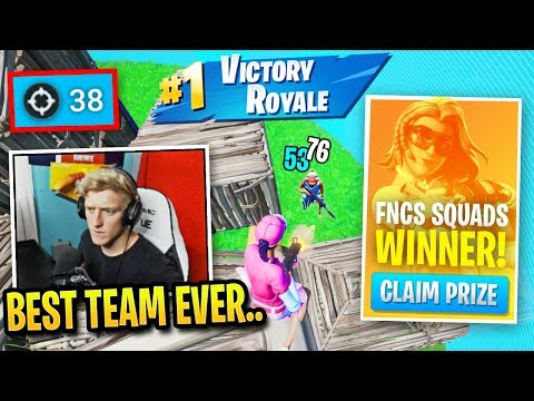 Tfue Earns *FIRST PLACE* In First FNCS Squads Tournament!
