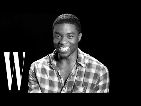 Chadwick Boseman Confesses His Cinematic Crush  Screen Tests 2015