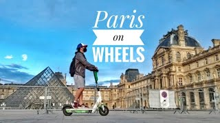 Paris by trottinette! (Me and …