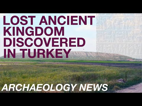BREAKING NEWS - Lost Ancient Kingdom Discovered in Turkey //