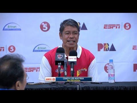 Presscon: San Miguel vs. Kia   PBA Philippine Cup 2018