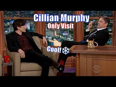 Cillian Murphy  Christopher Nolans GoTo Actor  His Only Appearance on Craig Ferguson