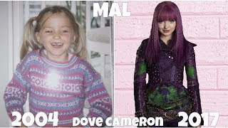 Descendants 2 actors, Before and After they were Famous