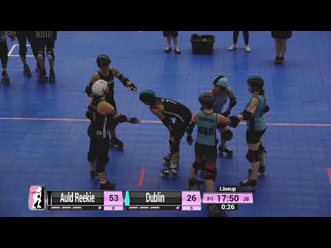 WFTDA Roller Derby - Division 2, Pittsburgh - Game 1 - Auld Reekie vs. Dublin
