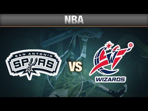 Season  2002 - 2003 San Antonio Spurs vs. Washington Wizards
