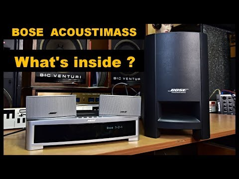 BOSE Acoustimass Module Active Subwoofer #bose PS 3-2-1 II GSX Powered Speaker System