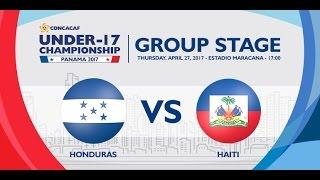 CU17PAN: Honduras vs Haiti