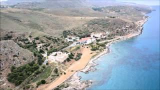 Κολυμπάρι Χανίων από ψηλά creta