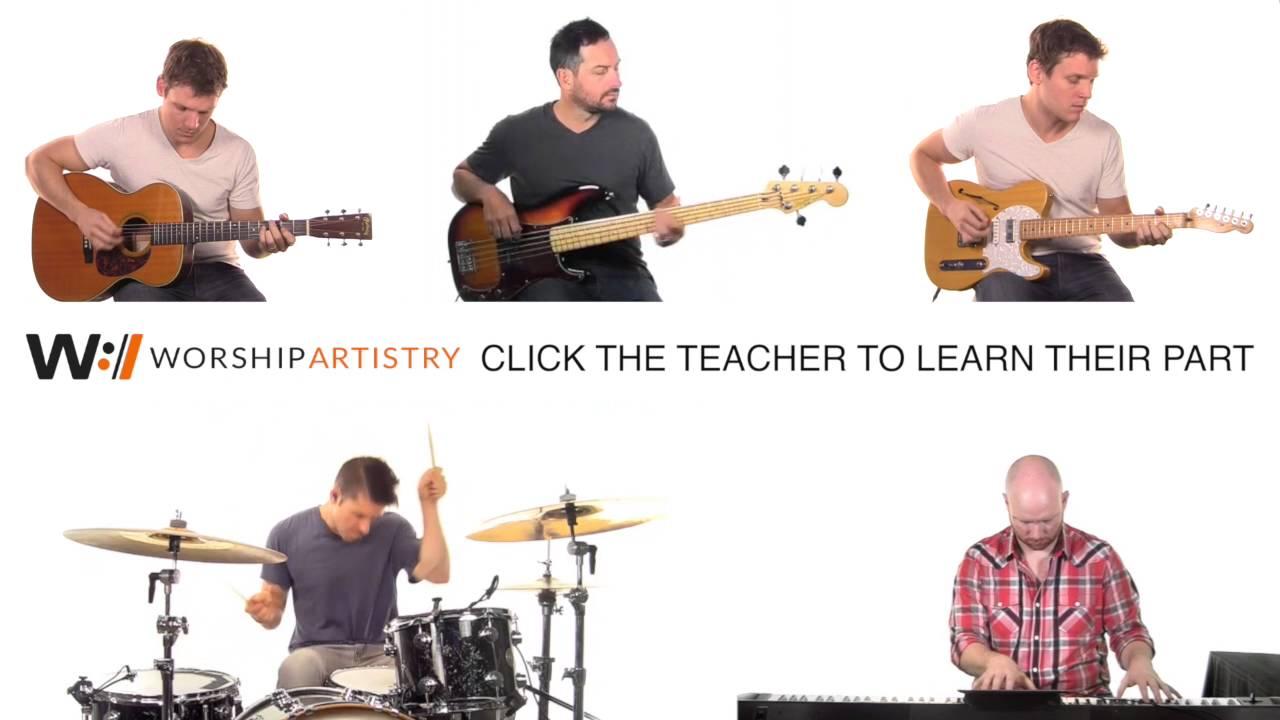 Full Band Tutorial Holy Spirit By Francesca Battistelli Youtube